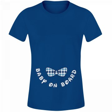 Baby On Board Bow Tie