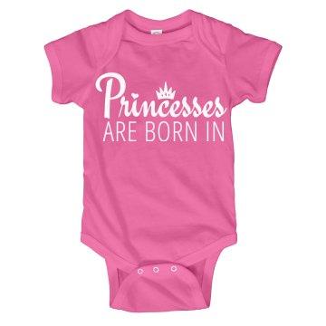 BABY PRINCESS ONESIE