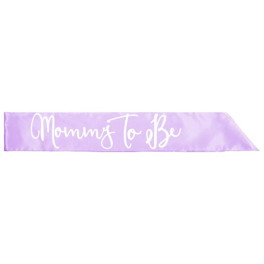 Baby Shower Sashes Mommy To Be