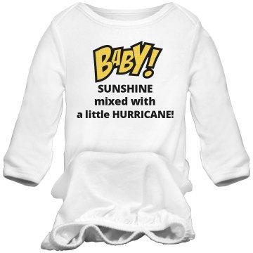 Baby Sleeper Sunshine and Hurricane