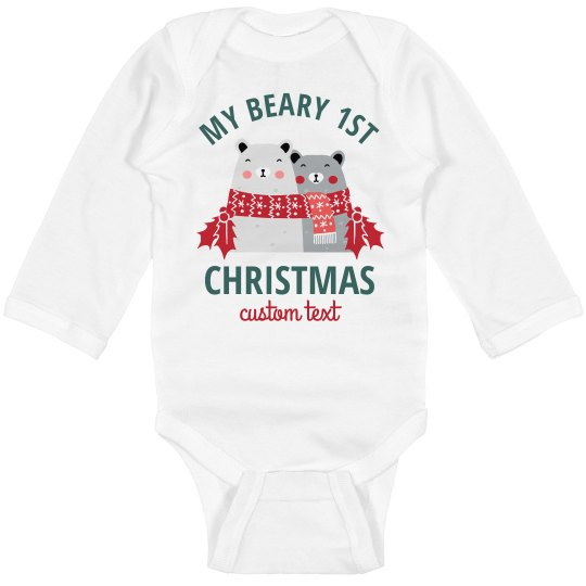 "Baby's ""Beary"" First Christmas"