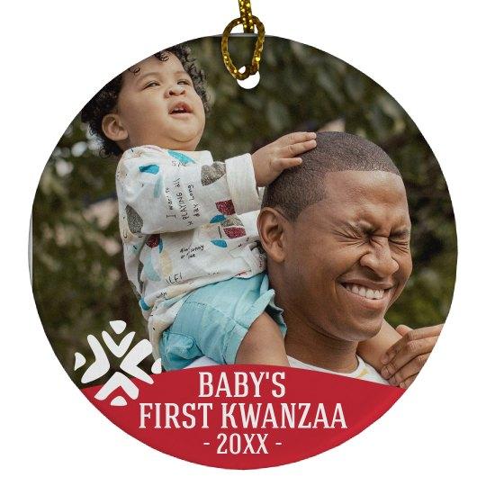 Baby's First Kwanzaa Ornament
