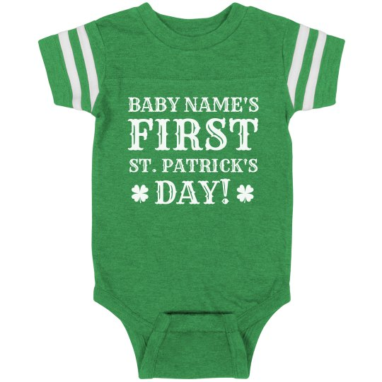 Baby's First St. Patrick's Holiday