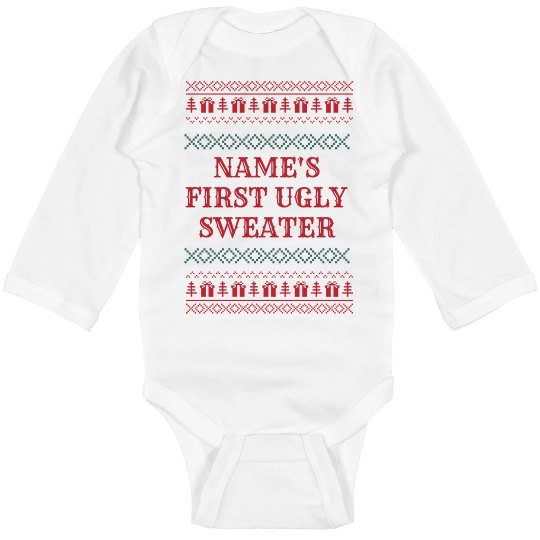 Baby's First Ugly Sweater