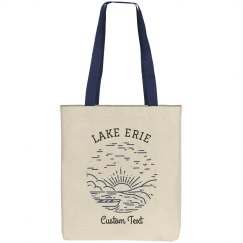 Custom Lake Trip Vacation Tote