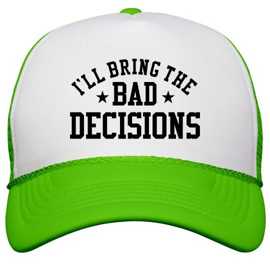 Bachelorette Hats Bad Decisions