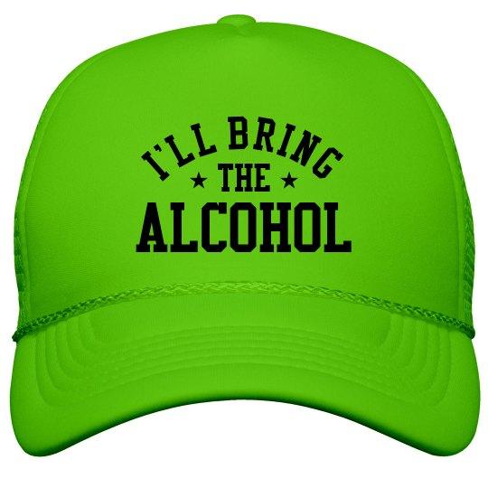 Bachelorette Hats Bring The Alcohol