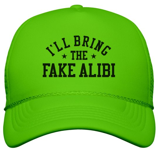 Bachelorette Hats Fake Alibi
