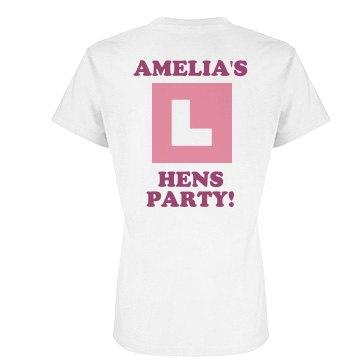 Bachelorette Hens Party