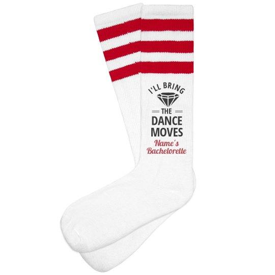 Bachelorette Socks Dance Moves