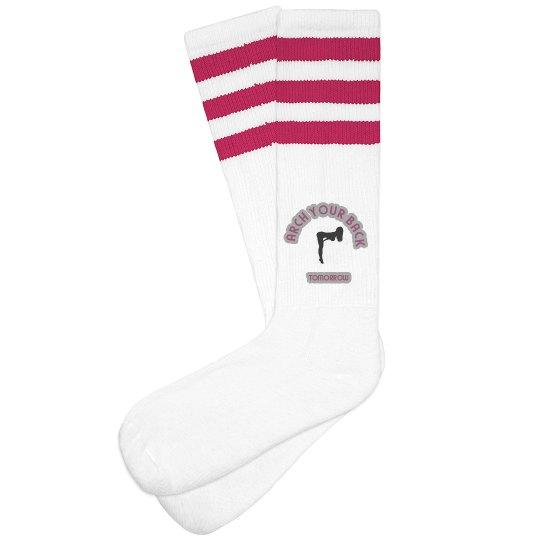 Back Arch Tomorrow Socks