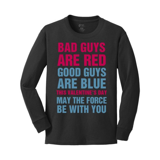 Bad Guys Are Red Valentine's Day