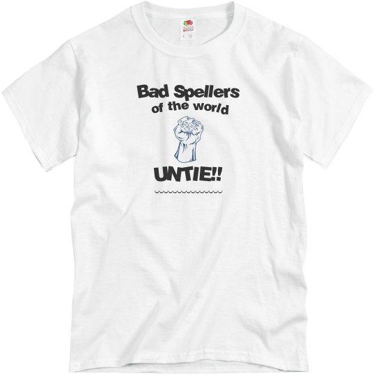 Bad Spellers grey