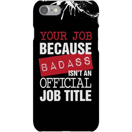 Badass Job Title Case