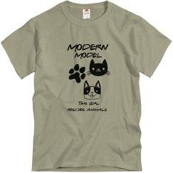Modern Model Animal Rescue T-shirt