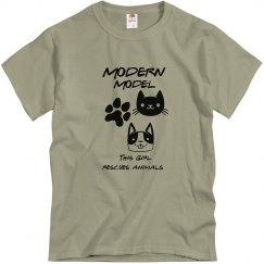 Modern Model Animal Rescue T-shirt