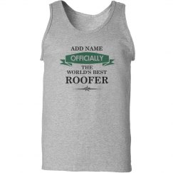 World's best Roofer Tank Top