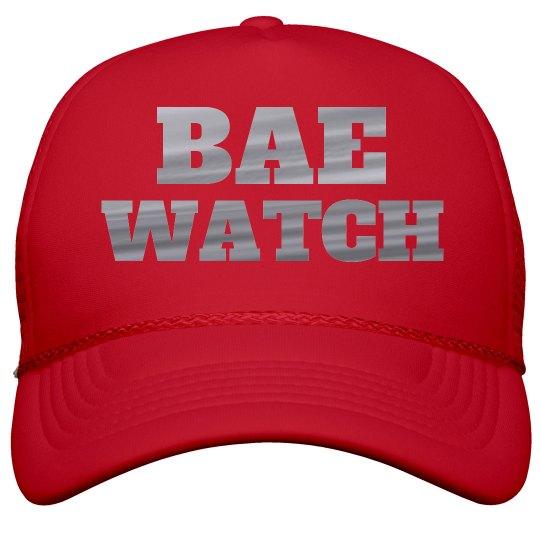 Bae Watch Vacation Metallic Print