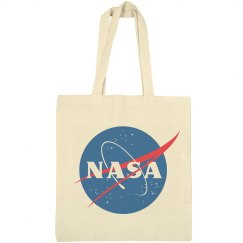 Trendy NASA Logo Graphic Totes