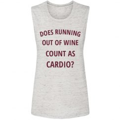 My Cardio is Running out of Wine