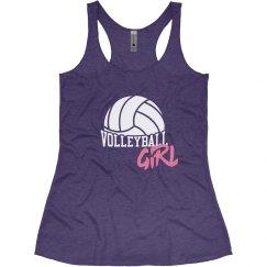 Trendy Volleyball Girl