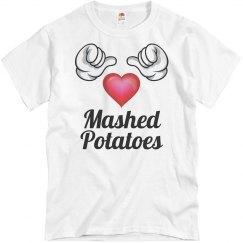 I love mashed potatoes