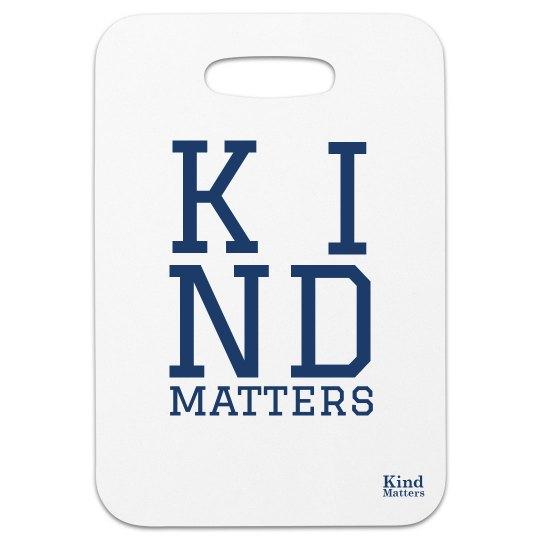 Bag tag K I N D MATTERS