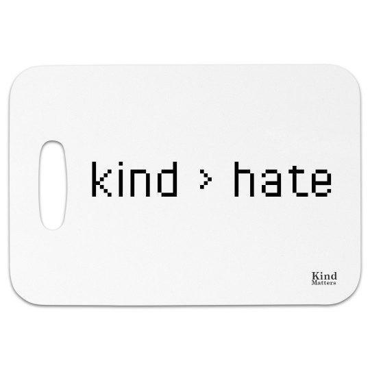 Bag tag kind > hate
