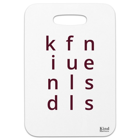 Bag tag Kindfullness