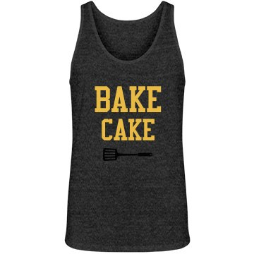Bake Cake Mens Black