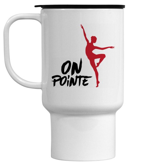 Ballet travel mug