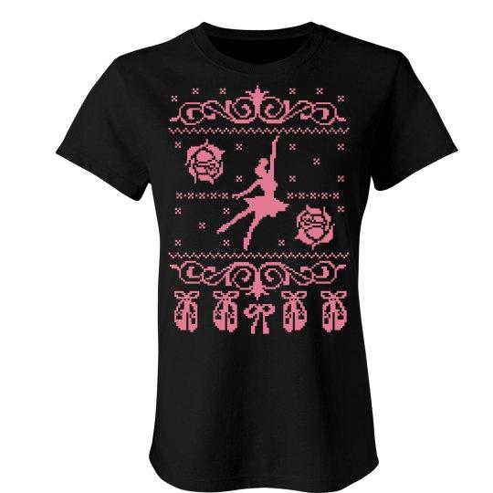 Ballet Ugly Sweater Shirt
