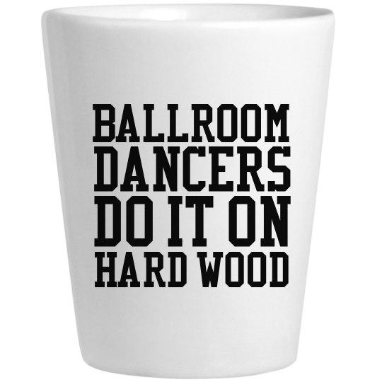 Ballroom Dancers Do It Shot