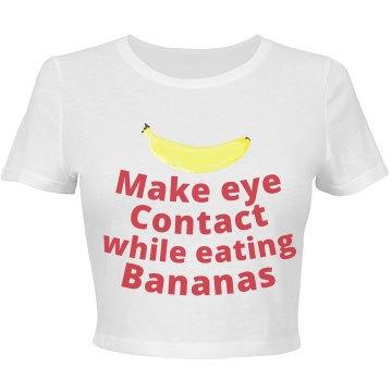 Banana Fit Crop
