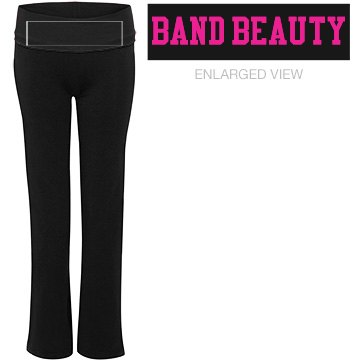 Band Beauty Yoga Pants