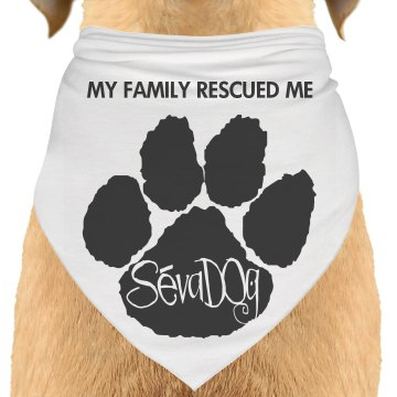 Bandanna for your adopted dog
