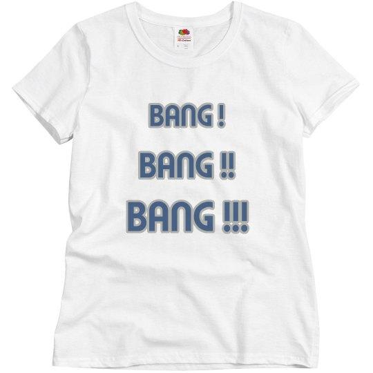 Bang bang bang  white/grey/blue