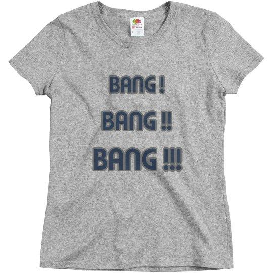 Bang bang bang grey/blue