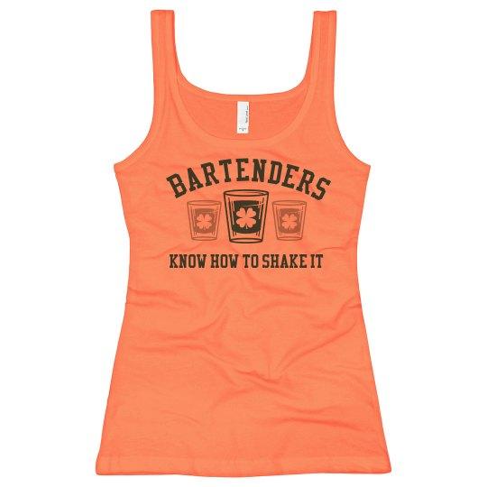 Bartenders Can Shake It