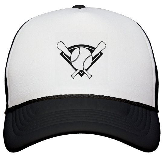 Baseball and Bat Hat