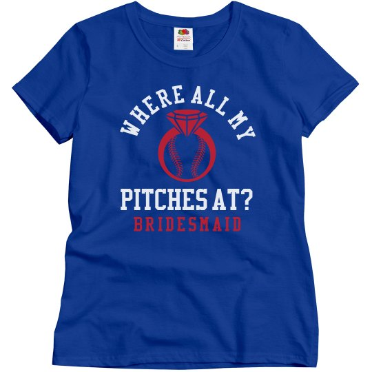 Baseball Bachelorette Girls 2 Bridesmaids
