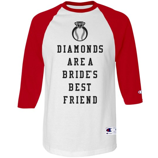Baseball Bachelorette Party Word Play Shirt