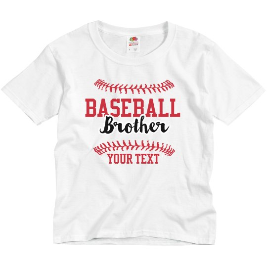 Baseball Brother Custom Tee