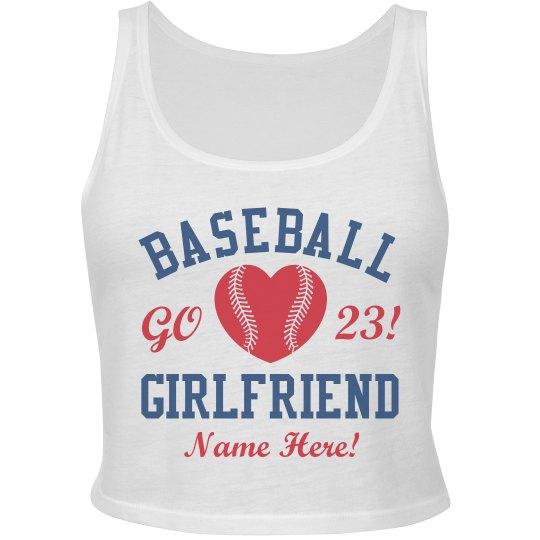 Baseball Crop Girlfriend