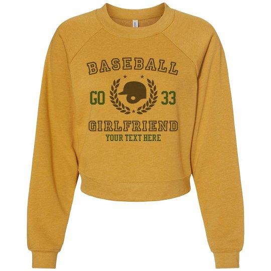 Baseball Custom Girlfriend Sweater