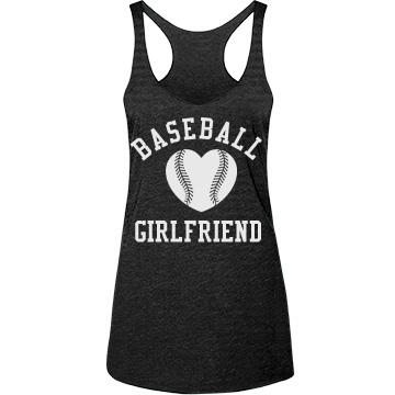 Baseball Girlfriend Tanks With Customizable Backs!