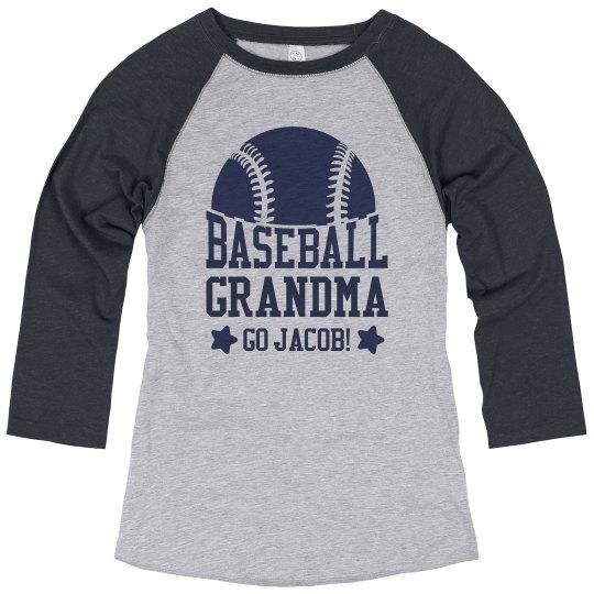 Baseball Grandma Cheer