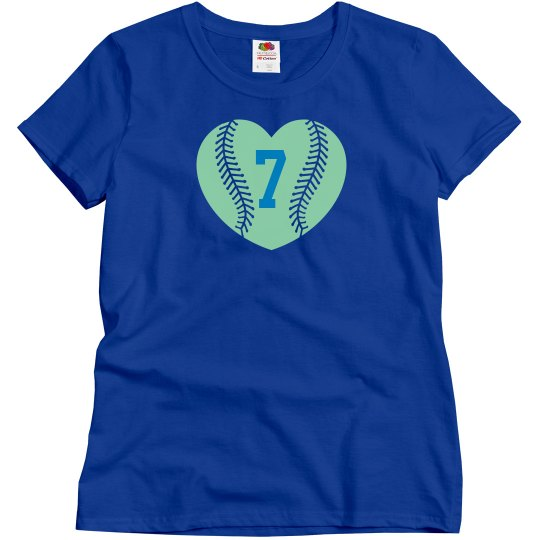 Baseball Heart-Player #