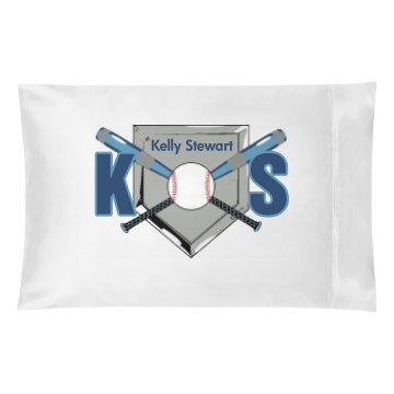 Baseball Initials Pillow