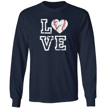 Baseball Love Long Sleeve